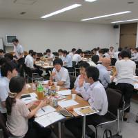 石川県企画振興部の研修にて